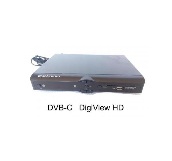 DIGI VEIW HD DVB-C (втора употреба)