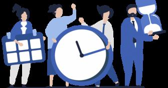 Стандартно работно време на касите